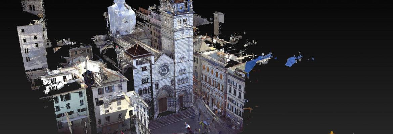 modus architecturae rilievo san lorenzo genova