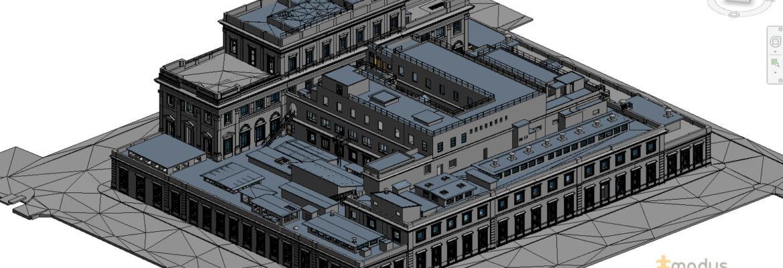 modus architecturae rilievo istituto poligrafico e zecca dello stato roma
