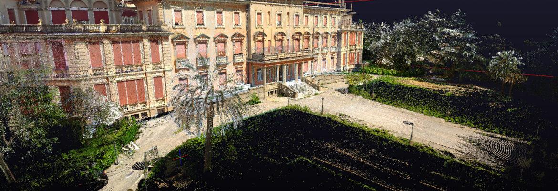 modus architecturae rilievo ex ospedale quarto genova